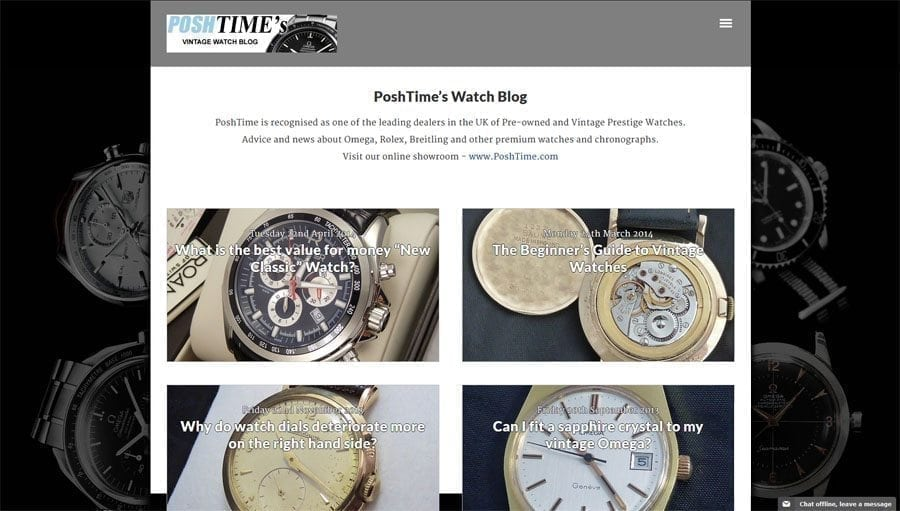 vintage watch blog