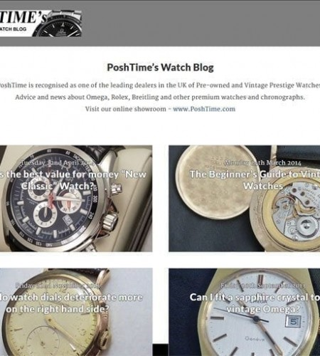Blog for Vintage Watch Dealer